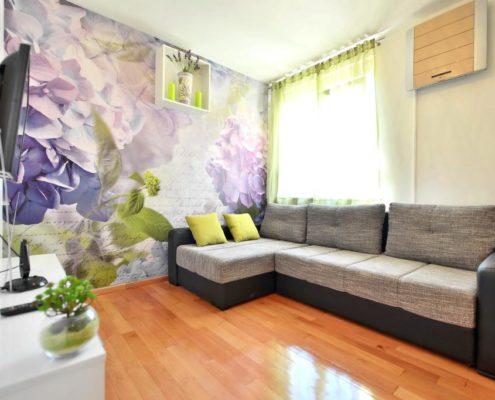 Croatia-Split-Beachfront-Living room